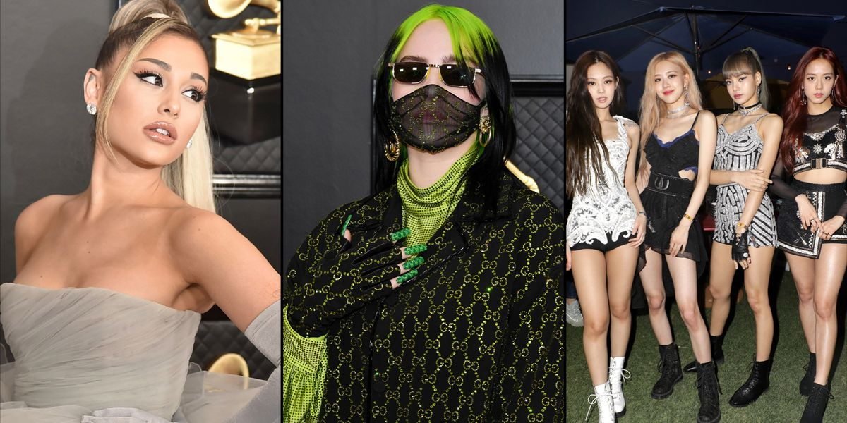 Billie Eilish, Blackpink, Ariana Grande Release Face Masks