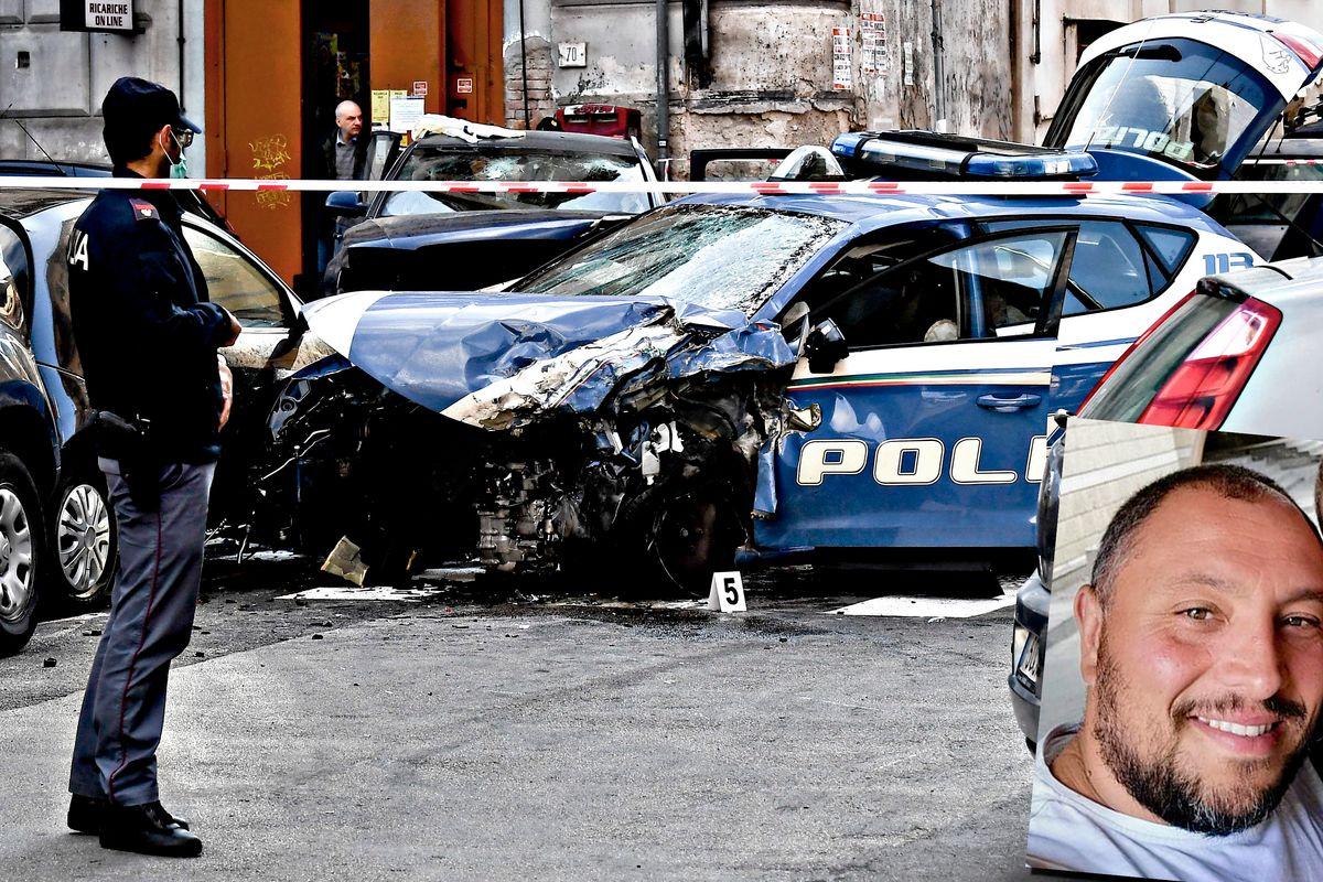 Poliziotto ammazzato dai banditi rom. I colleghi: «Vogliamo andare al funerale»