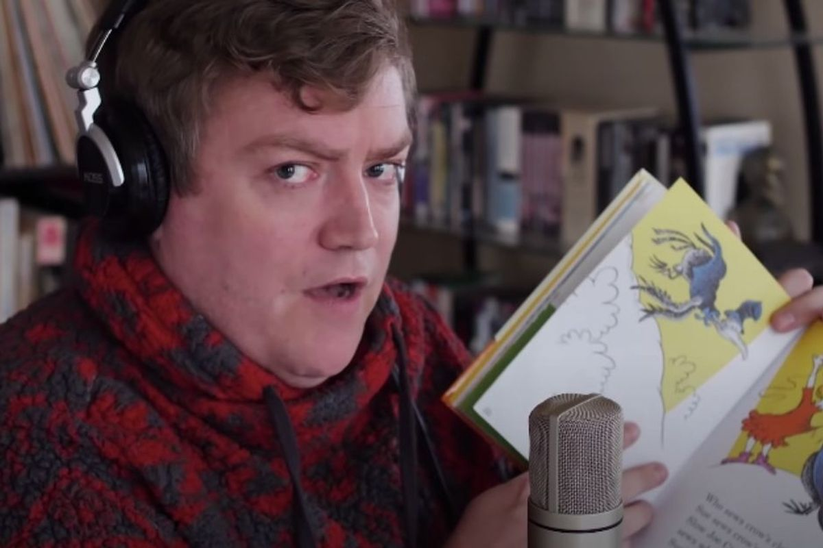 Man skillfully raps Dr. Seuss rhymes over Dr. Dre beats in a must-see mashup