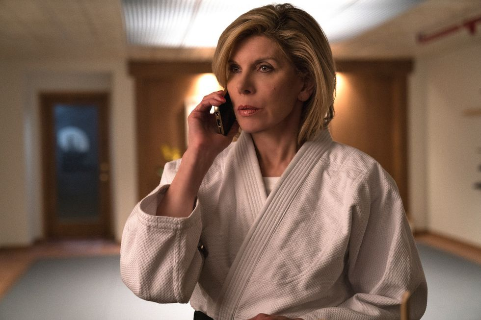 Christine Baranski as Diane Lockhart of the CBS All Access series The Good Fight