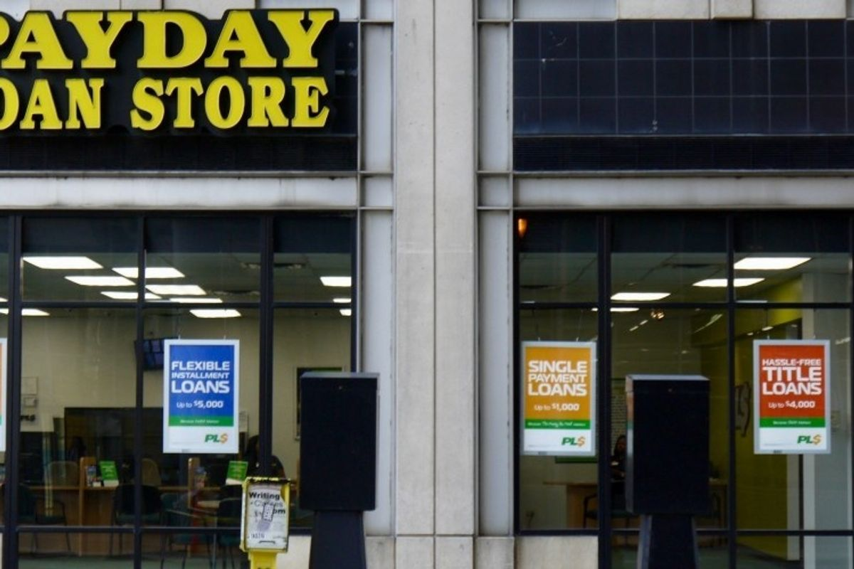 A 'bipartisan' group of lawmakers wants to give coronavirus loans to vicious payday lenders
