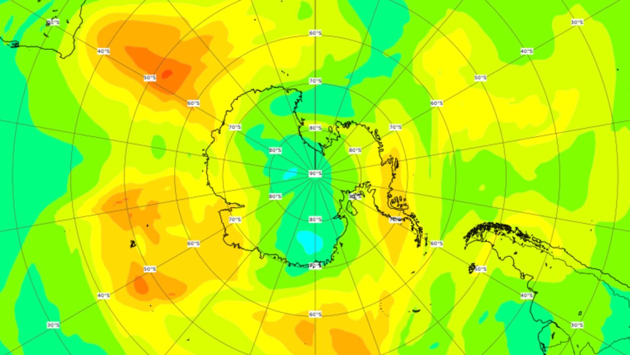 Record Ozone Hole Over the Arctic Has Closed