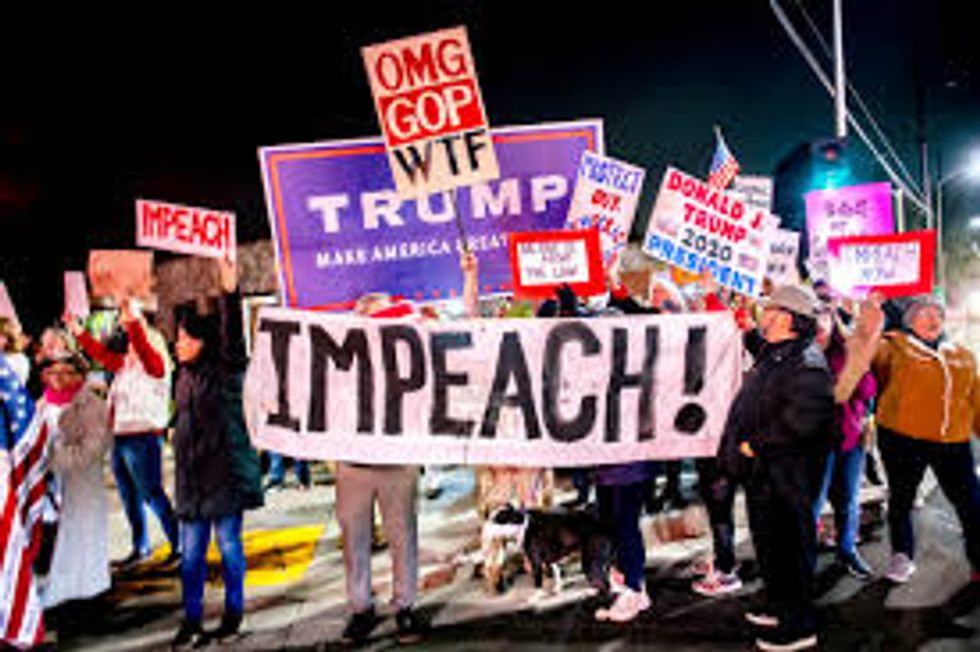 President Donald Trump Is Officially Impeached.