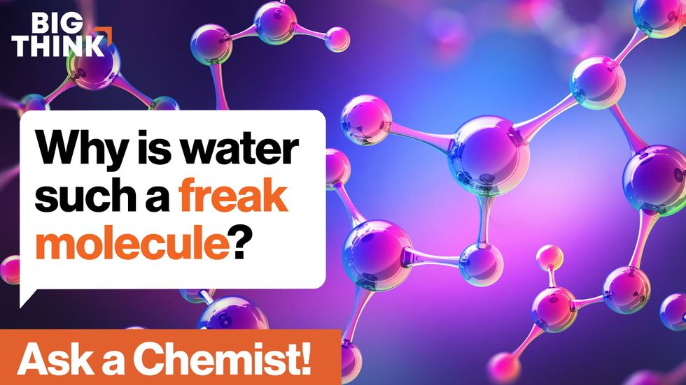 Kate the Chemist: Water is a freak substance. Here's why.