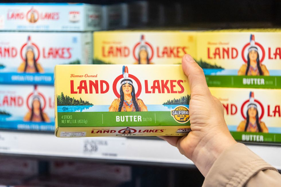 Hey, Land O'Lakes, Put The Native American Woman Back On The Butter... For More Than 1 Reason!