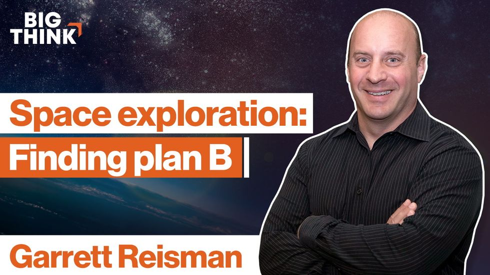 Space exploration is the ultimate plan B. Here's why.