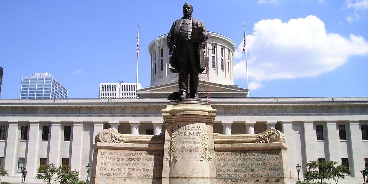 William McKinley President Monument