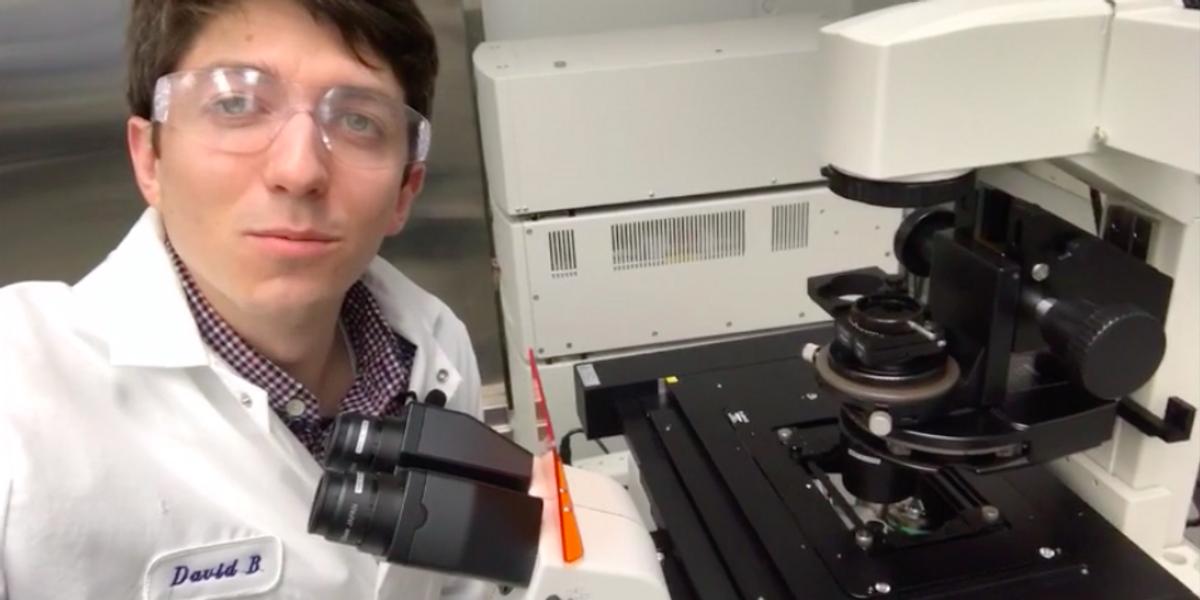 Of Microscopes and Men: David Belair, PhD.