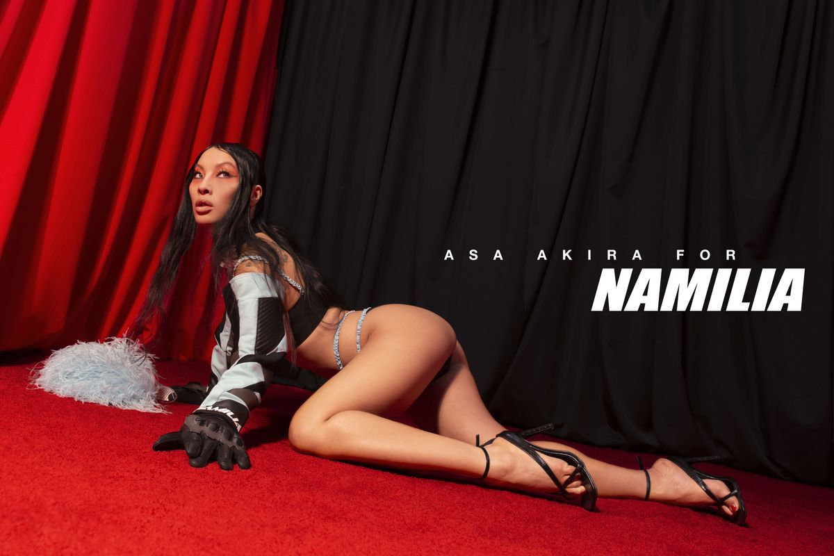 Pornhub's Asa Akira Stars in a 'Herotica' Fashion Campaign