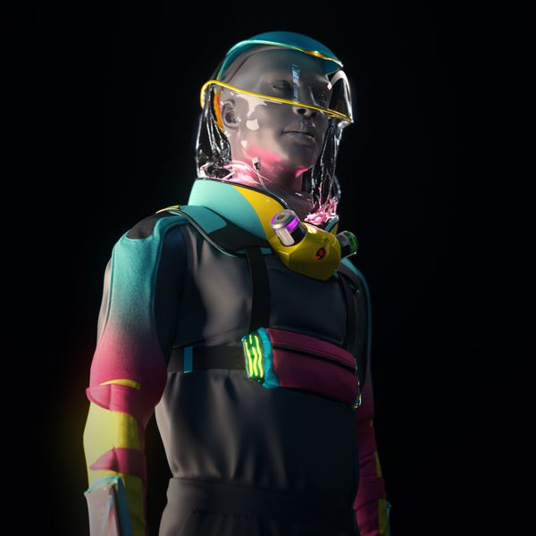 Is This Suit the Future of Rave Gear?