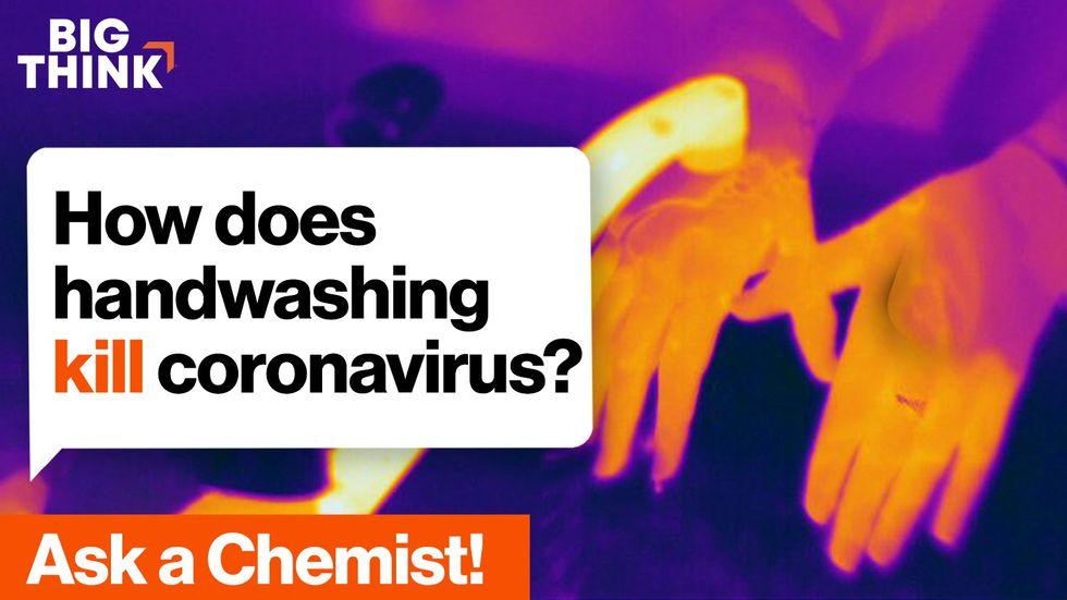Ask a Chemist: How does handwashing kill coronavirus?