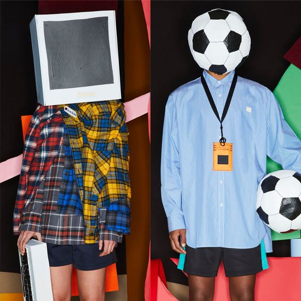 Acne Studios Made an Entire Collection out of Its Mellow Face Motif