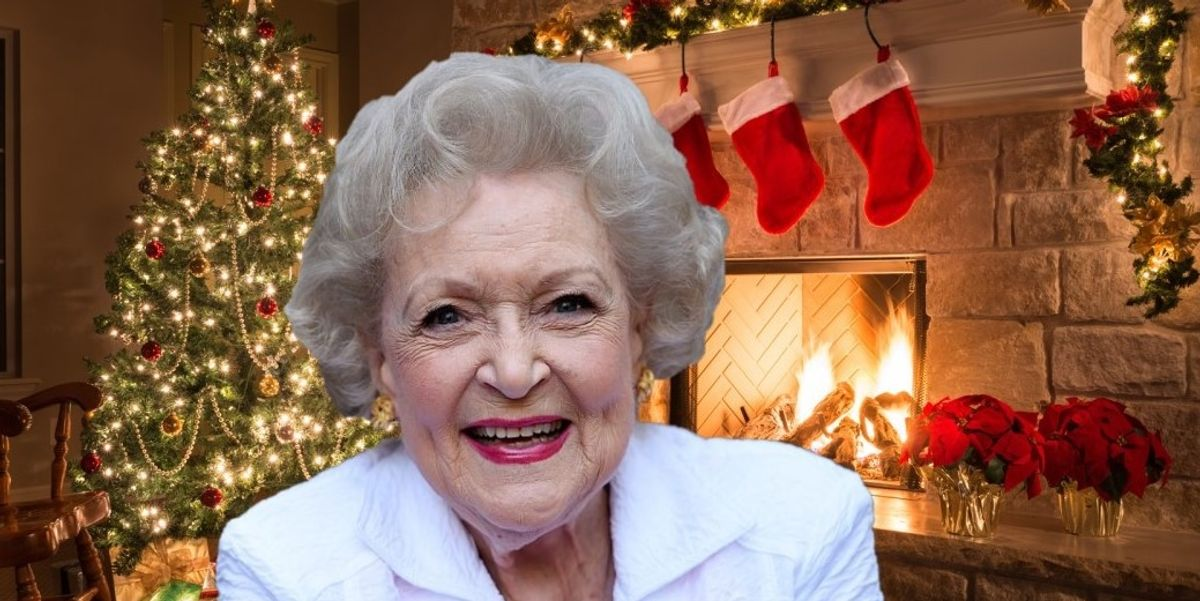 The New Betty White Christmas Movie Is Exactly What We Need Right Now