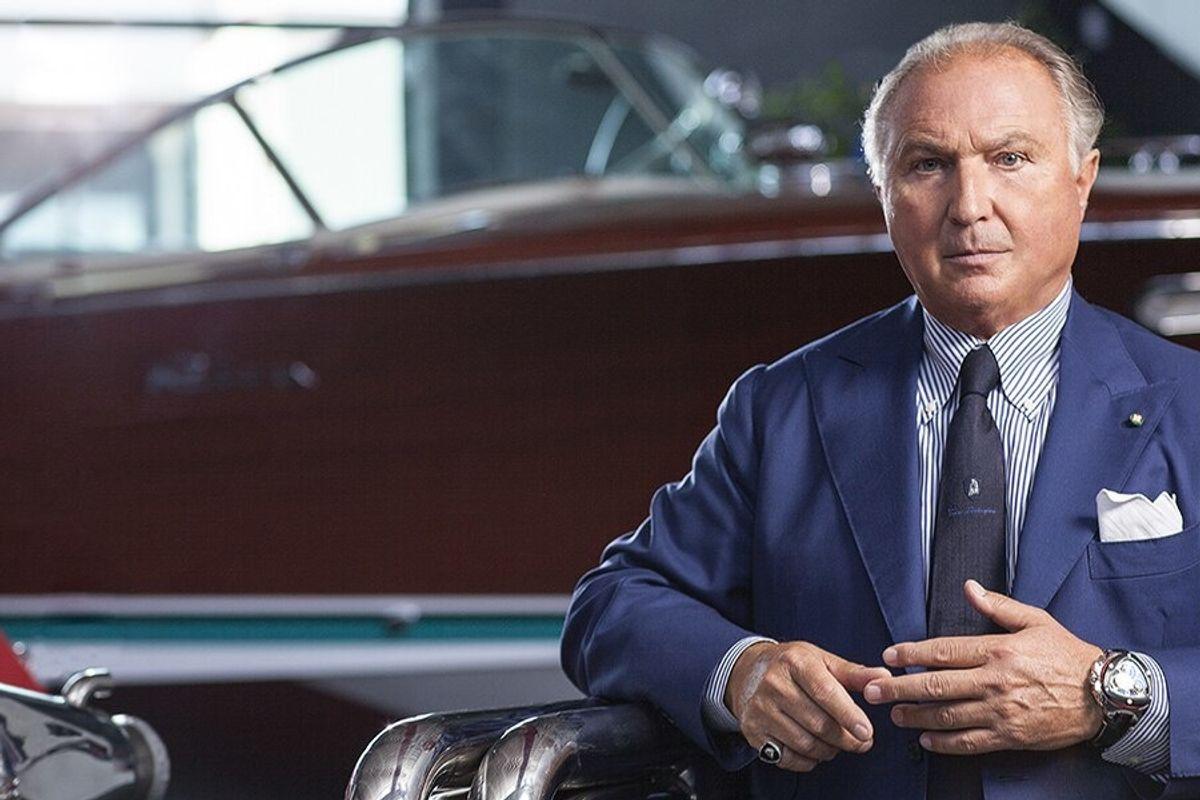 Tonino Lamborghini «Lo Stato in azienda? Idea da cotechini»