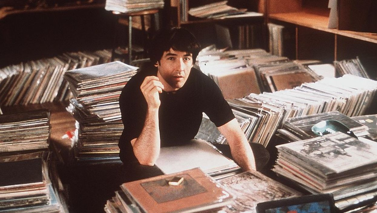 "John Cusack in ""High Fidelity"""