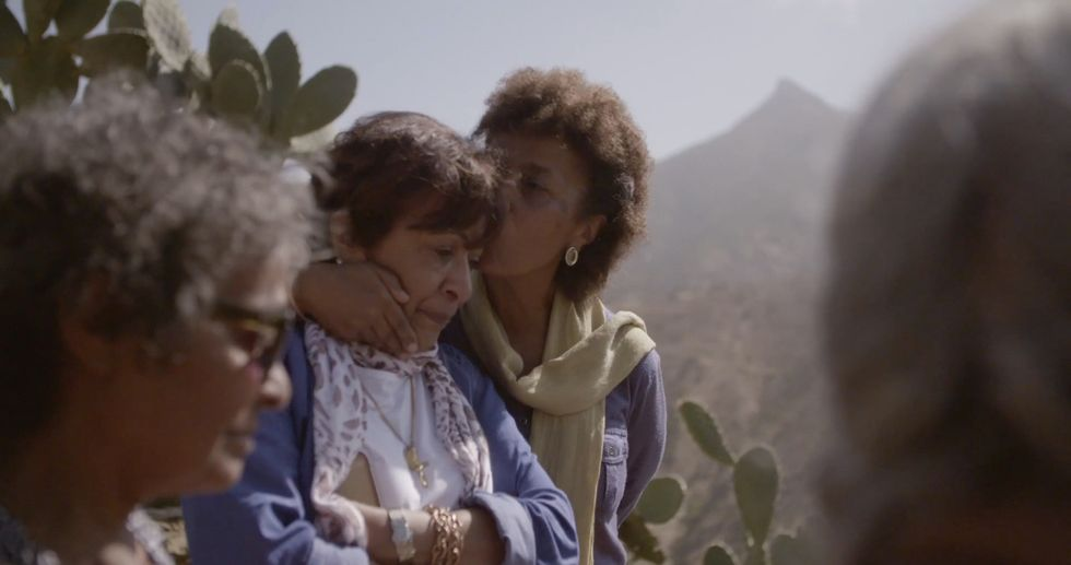 Ethiopian women interviewed for new Ethiopian-Canadian documentary Finding Sally.