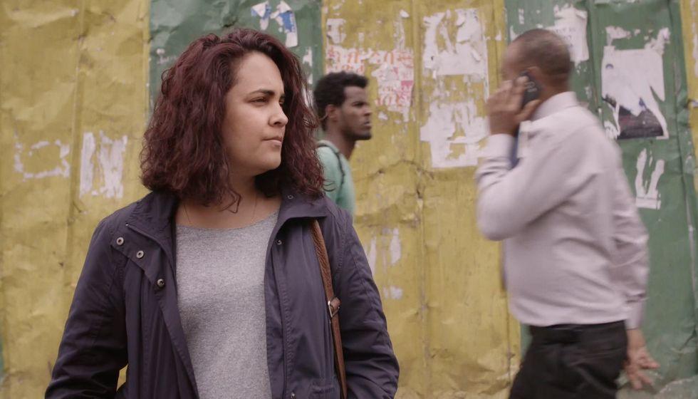 Ethiopian documentary filmmaker Tamara Dawit.