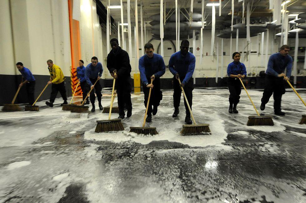 Military PFAS firefighting foam