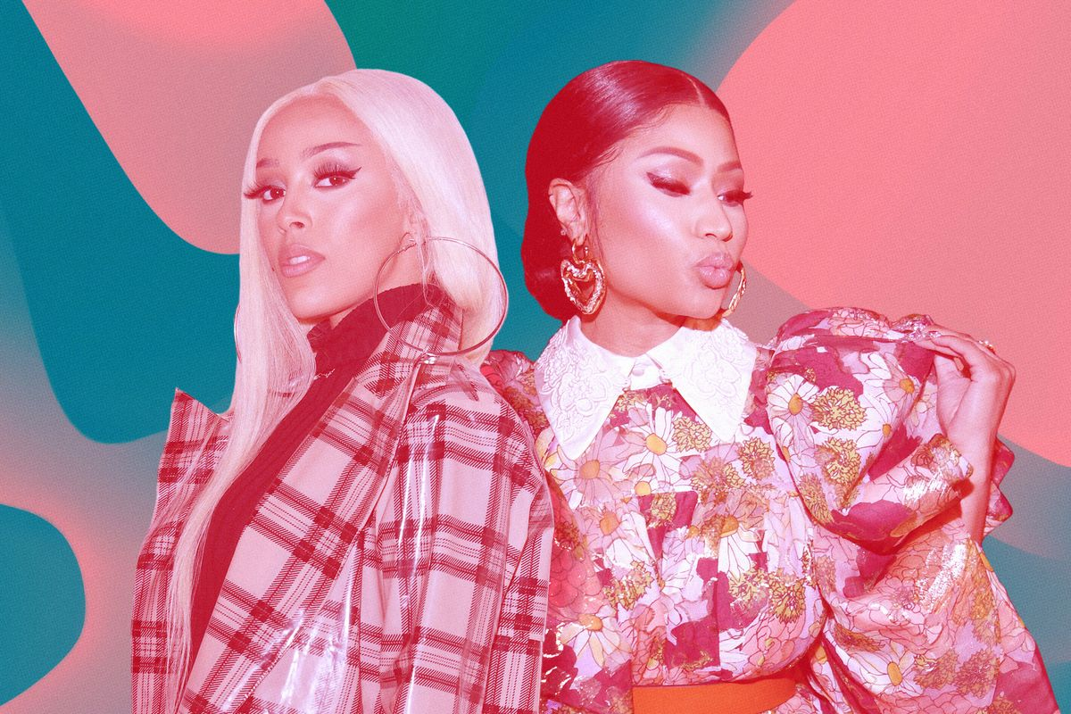 Doja Cat and Nicki Minaj Go No. 1 With 'Say So'