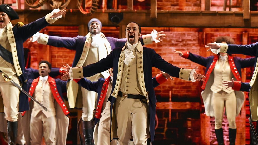 11 Reactions You Had To Finding Out The 'Hamilton' Movie's Dropping JULY 3 on Disney+ And You Won't Have To Wait For It