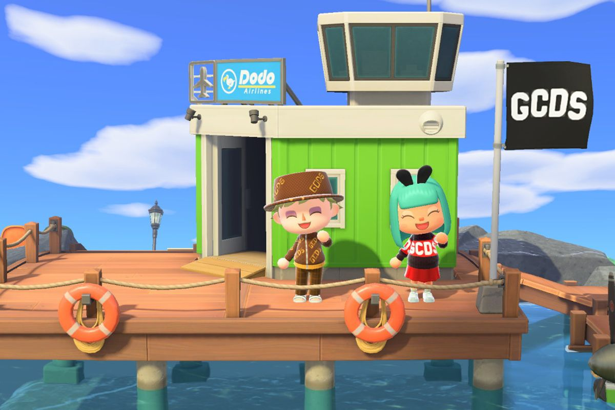 'Animal Crossing' Is Fashion's Newest Horizon