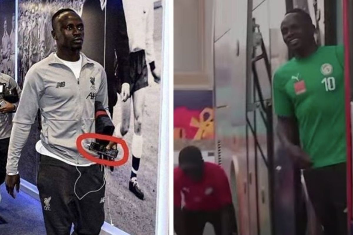 Soccer star Sadio Mané beautifully explains his approach to sharing his exceptional wealth