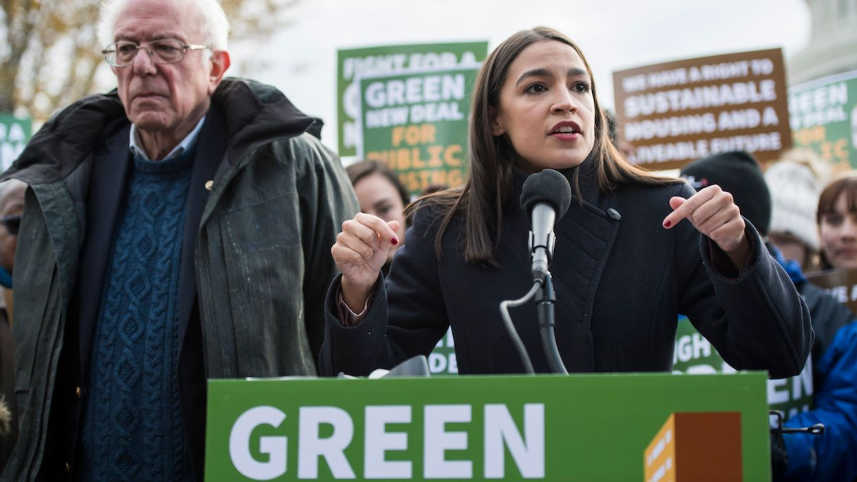 Green New Deal Champion AOC Will Serve on Biden Climate Panel