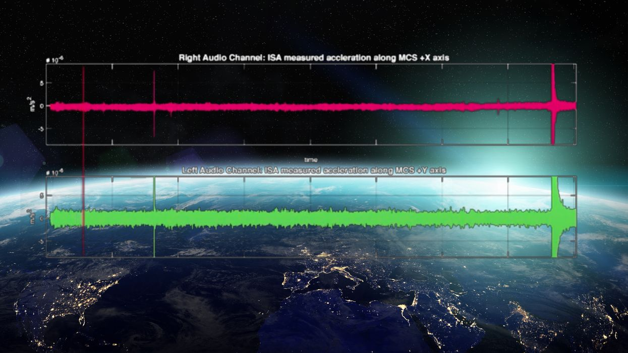 This is what aliens would 'hear' if they flew by Earth