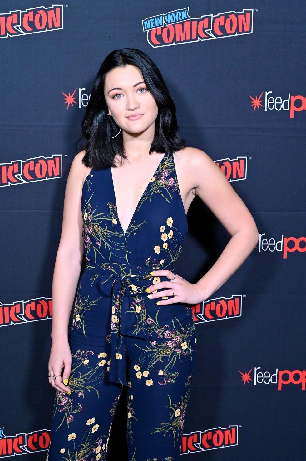 Isa Briones at Comic-Con