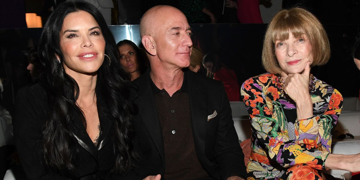 Jeff Bezos Is a Fashion Girlie Now