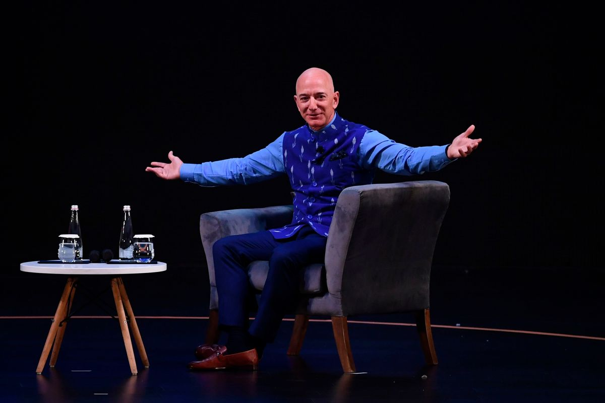 Jeff Bezos on Track to Become World's First Trillionaire