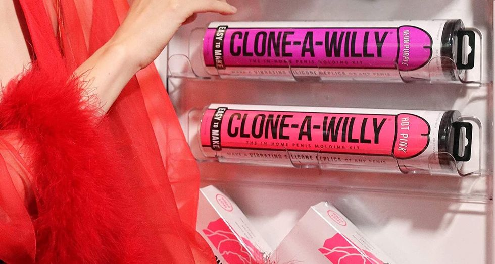 Amazon's Best-Selling Clone-A-Willy Kit Will Let You Mold Your Partner's Member Into A Dildo