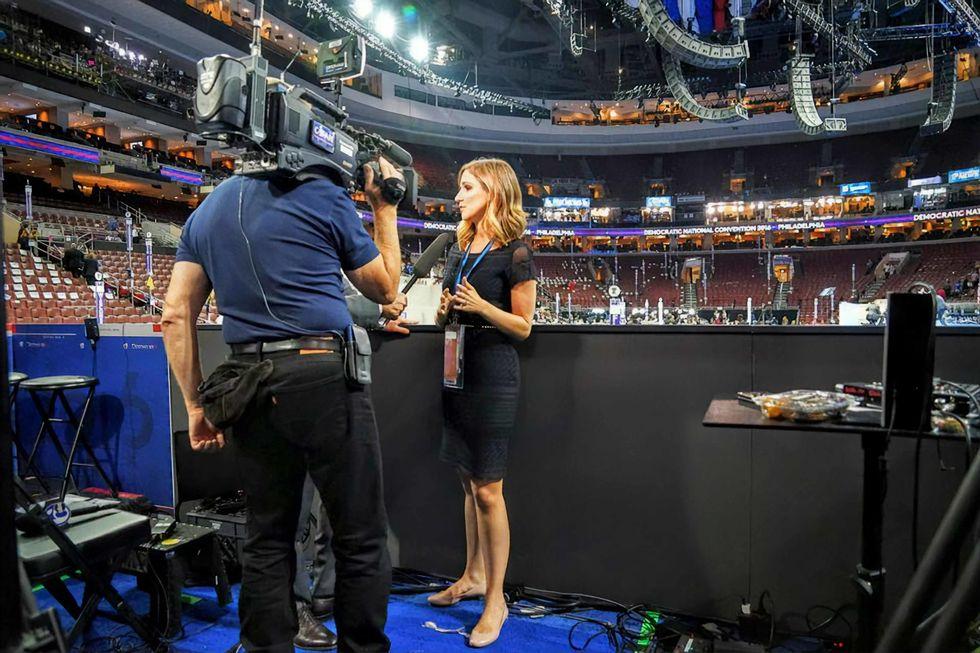 CBSN reporter Caitlin Huey-Burns.