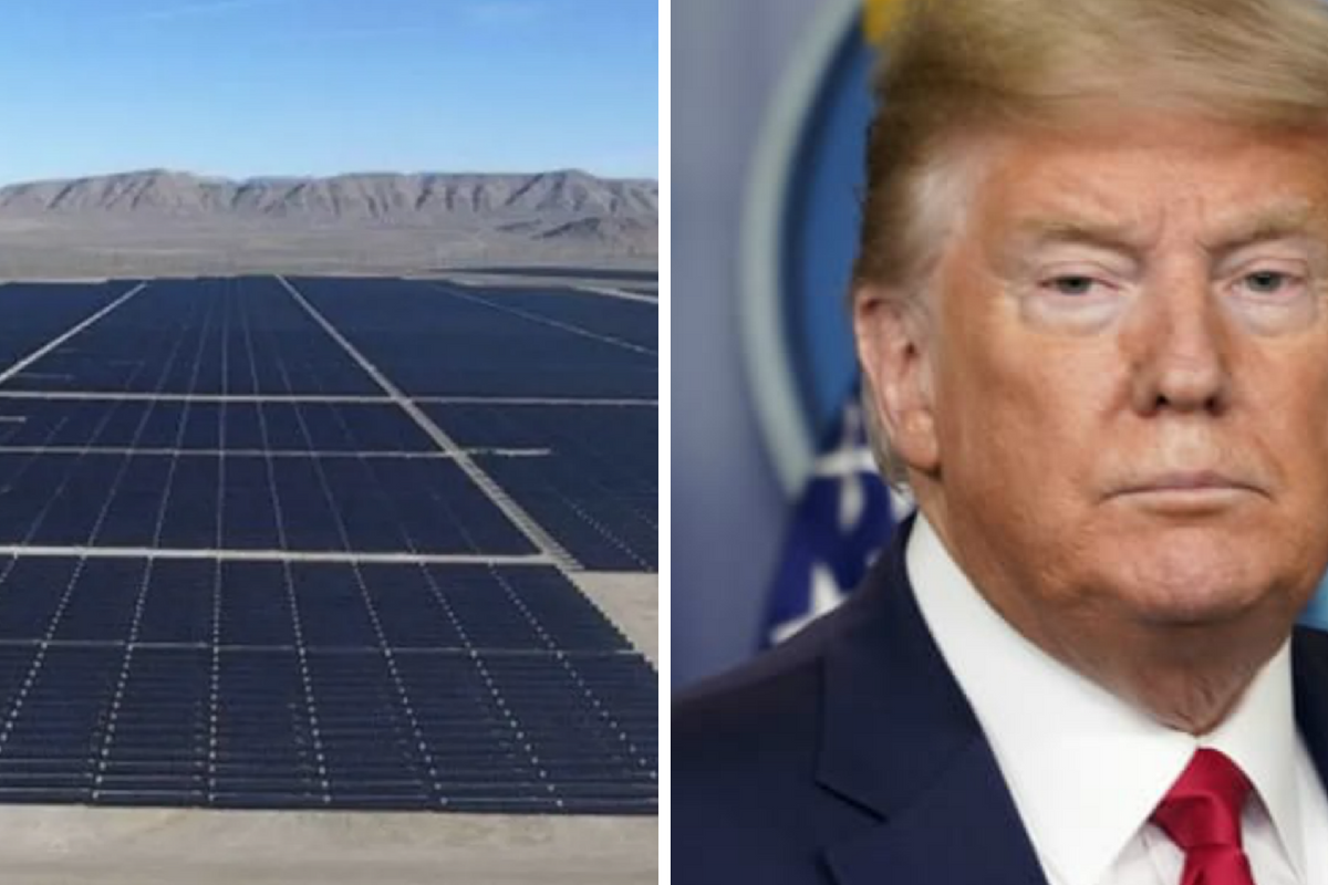 Trump Administration surprisingly approves the largest solar project in U.S. history
