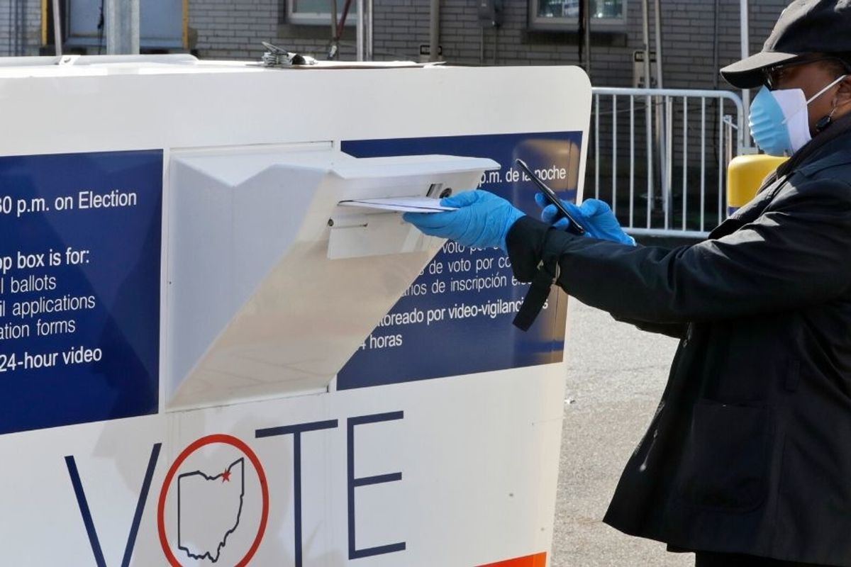 Ignoring Trump and right-wing think tanks, red states expand vote by mail