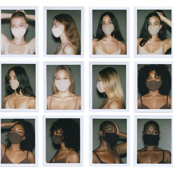 Kim Kardashian's SKIMS Made $8 Face Masks