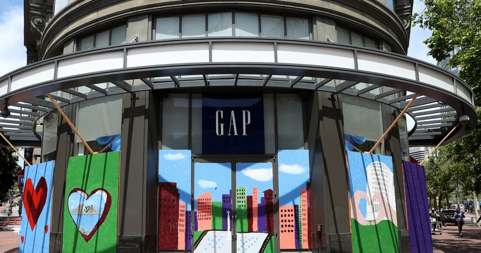 The Gap Is Facing Backlash Over A 'Camp Shirt' That Bears A Cringey Resemblance To A Concentration Camp Uniform