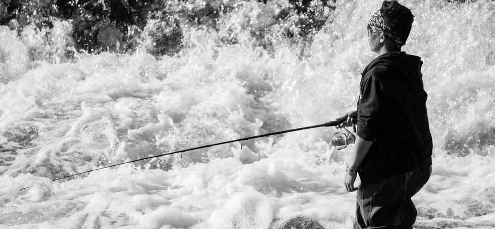 Fishing Milwaukee River