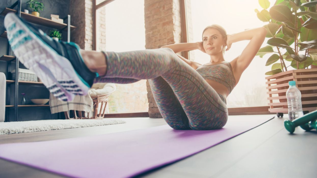 How 4-Second Workouts Can Counteract Sitting All Day