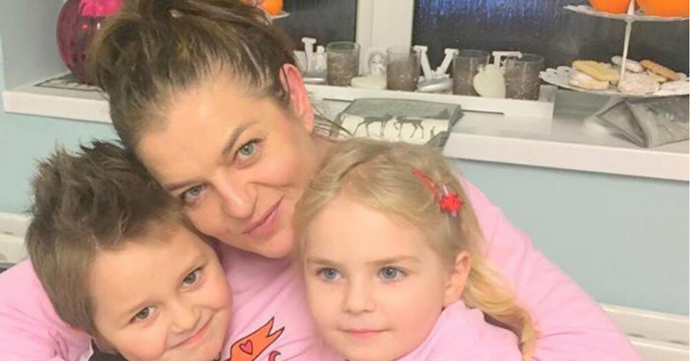 Mom Diagnosed With Cervical Cancer Desperate To Raise Money For Treatment So She Can Watch Her Children Grow Up