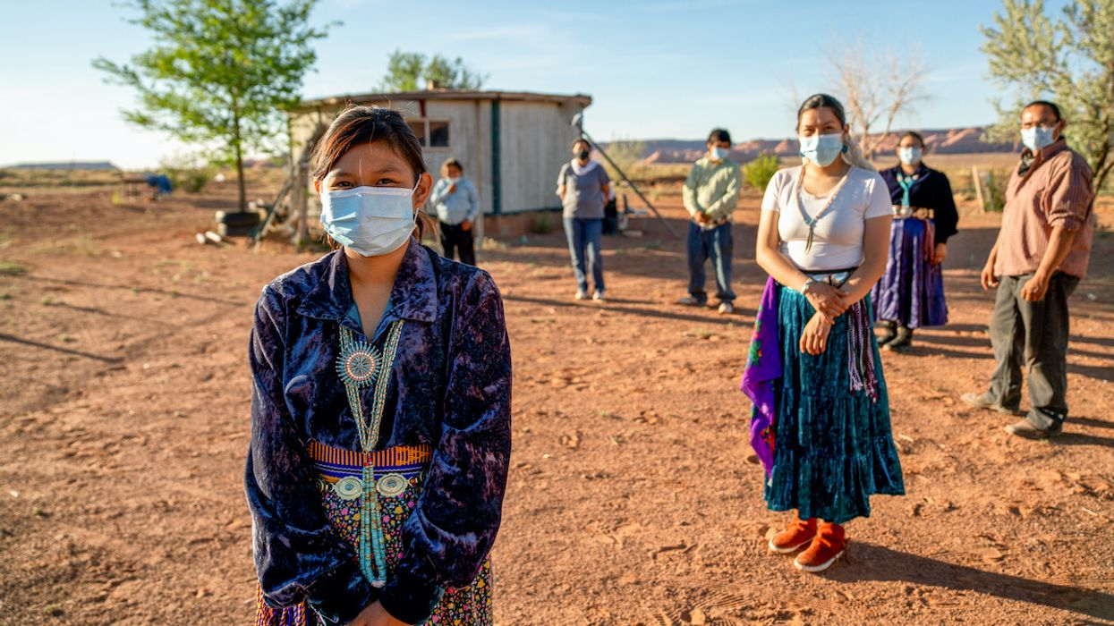 Navajo Nation Has Highest Covid-19 Infection Rate in the U.S.