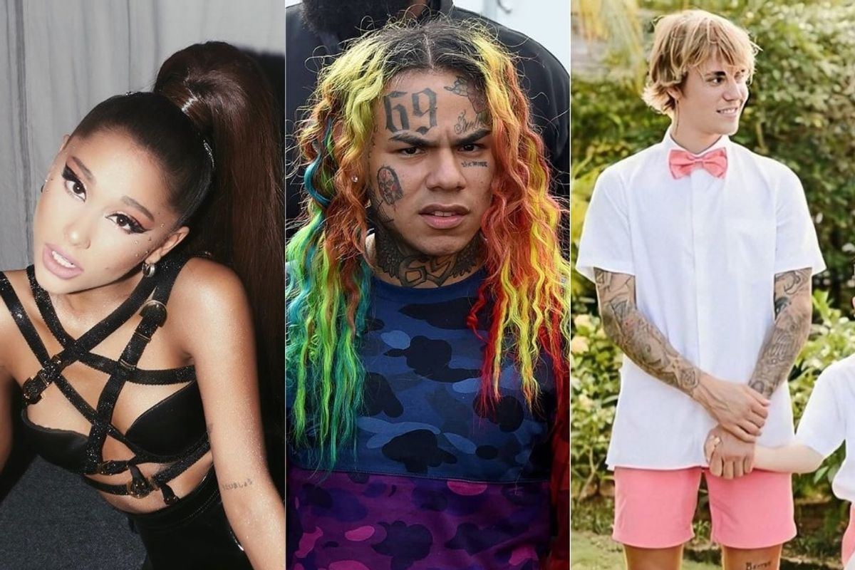 The Ariana Grande, Justin Bieber, Tekashi 6ix9ine Beef Explained