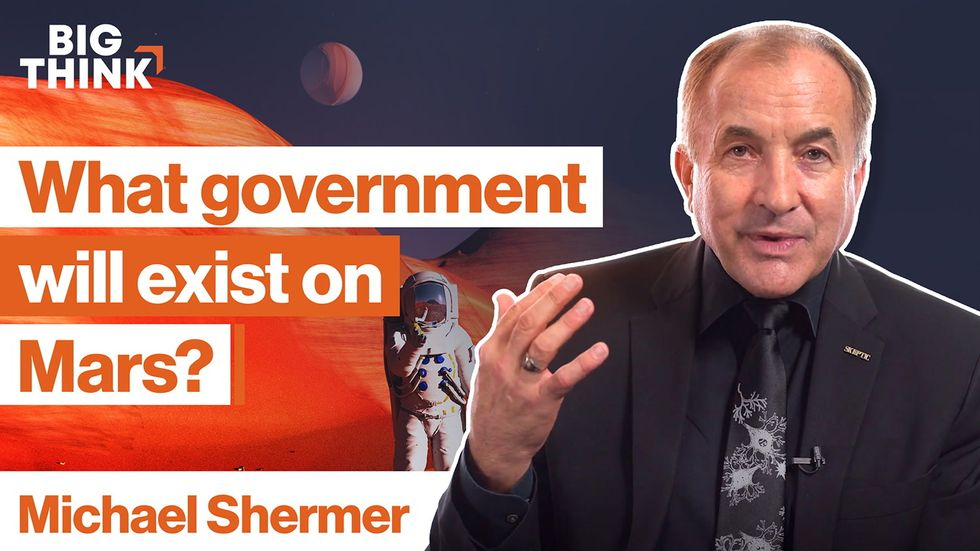 What kind of government will exist on Mars?