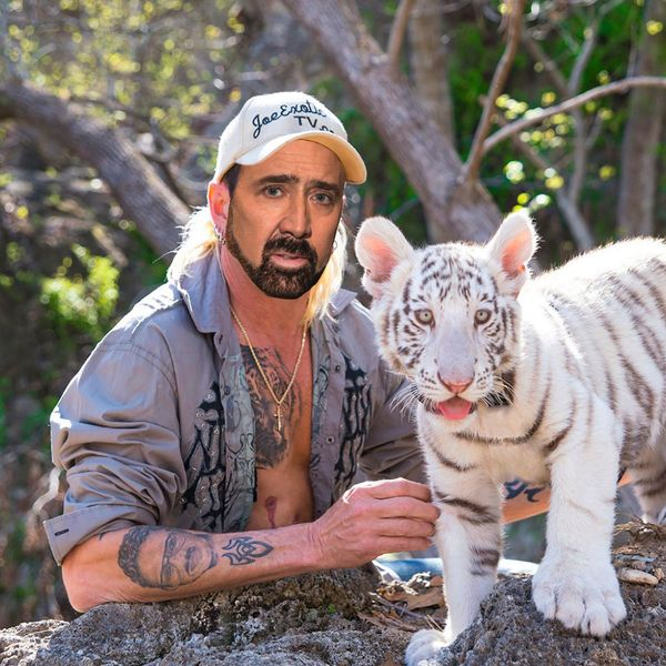 Nicolas Cage Is Thee Tiger King in His First-Ever TV Role
