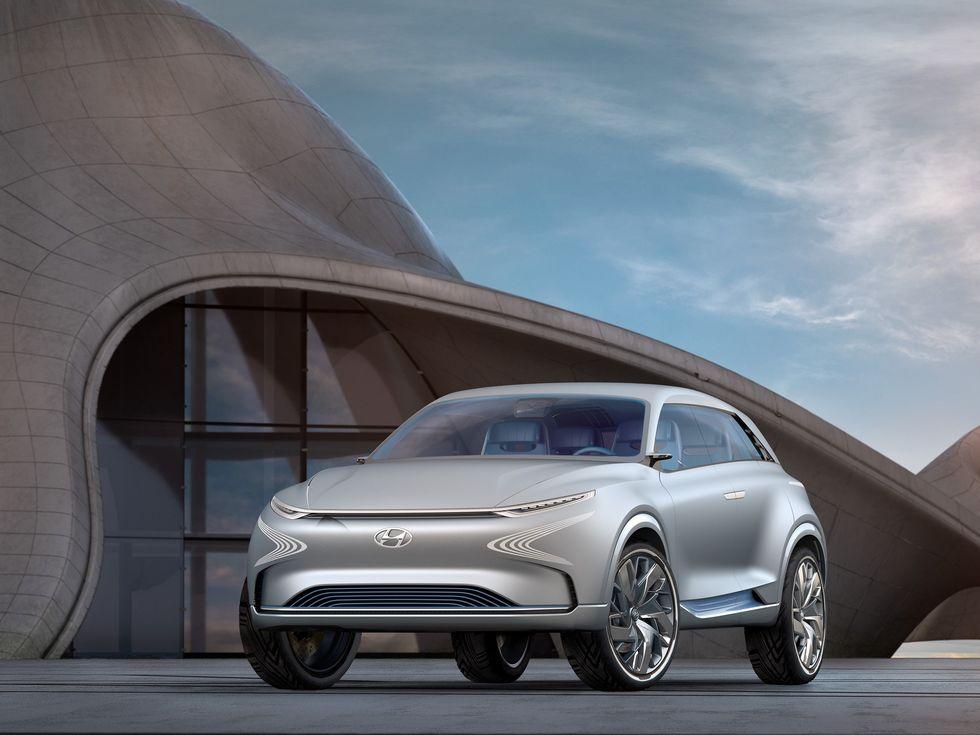 Hyundai FE Fuel Cell Concept Car SUV