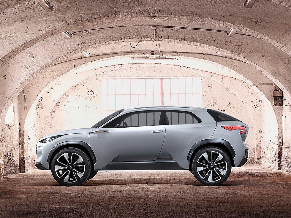 Hyundai Intrado Concept Car
