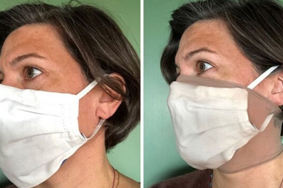 Putting pantyhose over of a homemade mask boosts effectiveness up to 50 percent, new study says