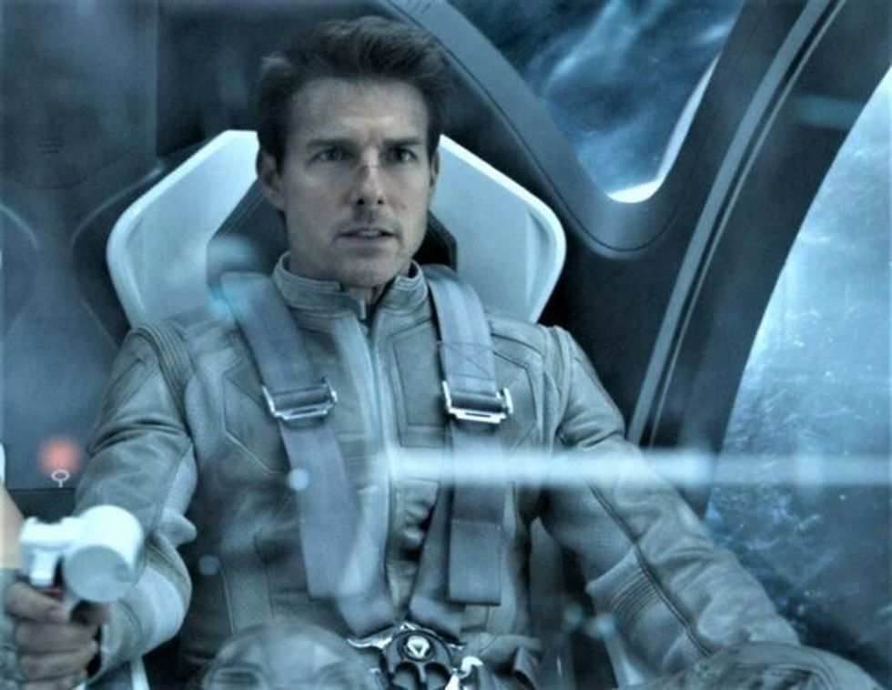 Tom Cruise is going to space to film an action movie