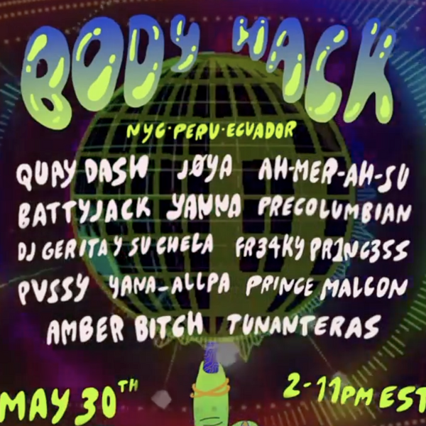 Livestream This: Body Hack's South American Fundraiser For Trans/Sex Work COVID-19 Relief