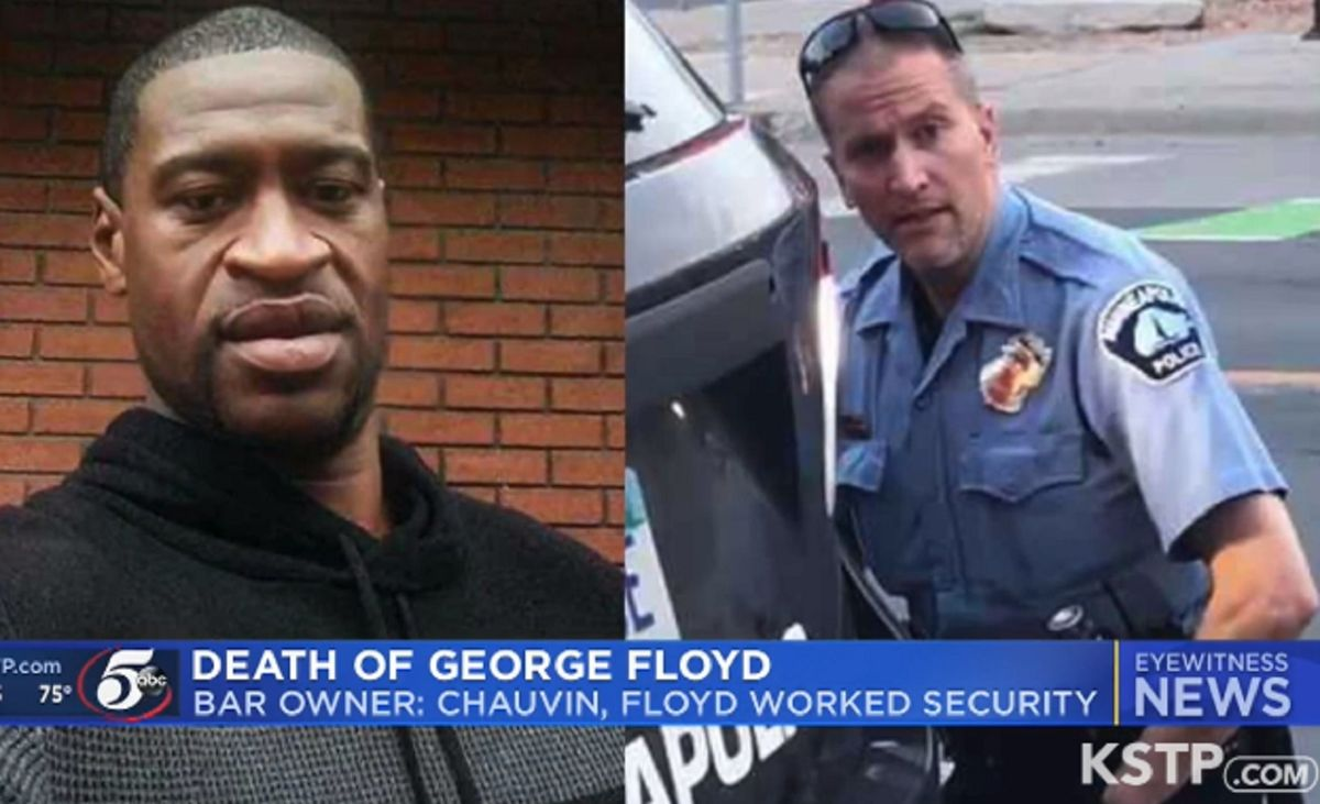 Former bar owner says George Floyd and fired...